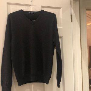 J.Crew charcoal gray wool sweater